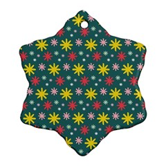 The Gift Wrap Patterns Ornament (snowflake)