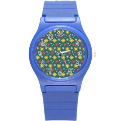 The Gift Wrap Patterns Round Plastic Sport Watch (s)