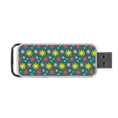 The Gift Wrap Patterns Portable Usb Flash (one Side)