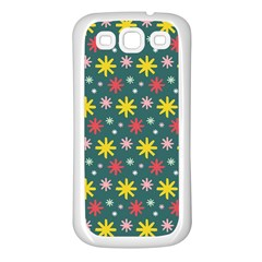 The Gift Wrap Patterns Samsung Galaxy S3 Back Case (white)