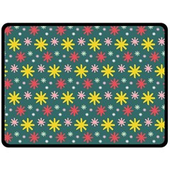 The Gift Wrap Patterns Double Sided Fleece Blanket (large)  by BangZart