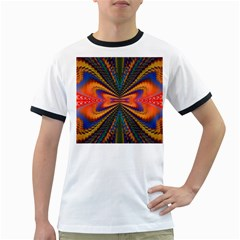 Casanova Abstract Art Colors Cool Druffix Flower Freaky Trippy Ringer T Shirts