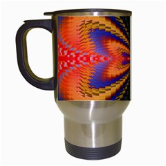 Casanova Abstract Art Colors Cool Druffix Flower Freaky Trippy Travel Mugs (white) by BangZart