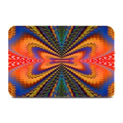 Casanova Abstract Art Colors Cool Druffix Flower Freaky Trippy Plate Mats
