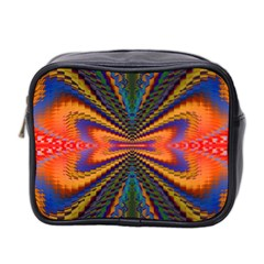 Casanova Abstract Art Colors Cool Druffix Flower Freaky Trippy Mini Toiletries Bag 2 Side