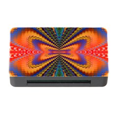 Casanova Abstract Art Colors Cool Druffix Flower Freaky Trippy Memory Card Reader With Cf