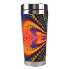 Casanova Abstract Art Colors Cool Druffix Flower Freaky Trippy Stainless Steel Travel Tumblers by BangZart