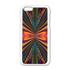 Casanova Abstract Art Colors Cool Druffix Flower Freaky Trippy Apple Iphone 6/6s White Enamel Case by BangZart