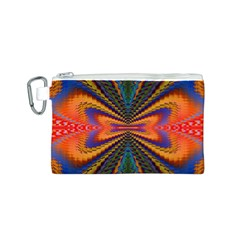 Casanova Abstract Art Colors Cool Druffix Flower Freaky Trippy Canvas Cosmetic Bag (s)