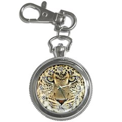 Leopard Face Key Chain Watches