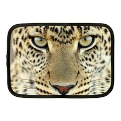 Leopard Face Netbook Case (medium)  by BangZart