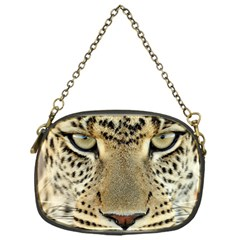 Leopard Face Chain Purses (one Side)