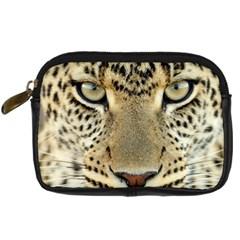 Leopard Face Digital Camera Cases