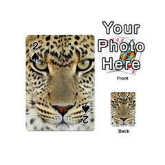 Leopard Face Playing Cards 54 (mini)  by BangZart