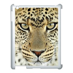 Leopard Face Apple Ipad 3/4 Case (white) by BangZart