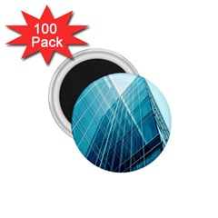 Glass Bulding 1 75  Magnets (100 Pack)  by BangZart