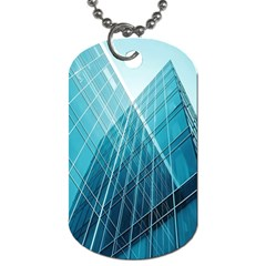 Glass Bulding Dog Tag (two Sides) by BangZart