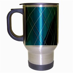 Glass Bulding Travel Mug (silver Gray)