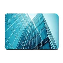 Glass Bulding Small Doormat  by BangZart