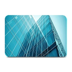 Glass Bulding Plate Mats by BangZart