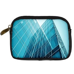 Glass Bulding Digital Camera Cases by BangZart
