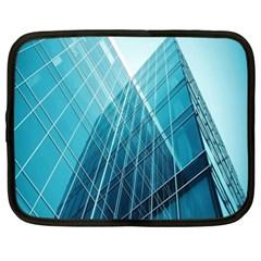 Glass Bulding Netbook Case (xxl)  by BangZart