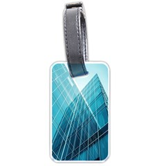Glass Bulding Luggage Tags (two Sides) by BangZart
