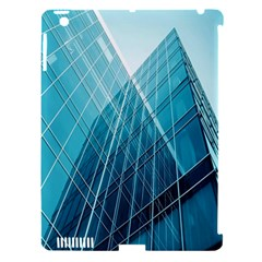 Glass Bulding Apple Ipad 3/4 Hardshell Case (compatible With Smart Cover) by BangZart