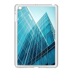 Glass Bulding Apple Ipad Mini Case (white) by BangZart