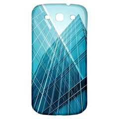 Glass Bulding Samsung Galaxy S3 S Iii Classic Hardshell Back Case