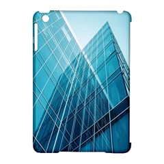 Glass Bulding Apple Ipad Mini Hardshell Case (compatible With Smart Cover) by BangZart