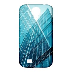 Glass Bulding Samsung Galaxy S4 Classic Hardshell Case (pc+silicone) by BangZart