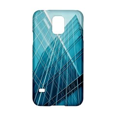 Glass Bulding Samsung Galaxy S5 Hardshell Case  by BangZart