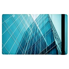 Glass Bulding Apple Ipad Pro 9 7   Flip Case by BangZart