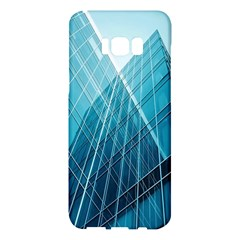 Glass Bulding Samsung Galaxy S8 Plus Hardshell Case  by BangZart