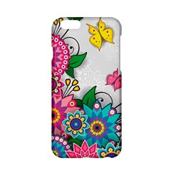 Flowers Pattern Vector Art Apple Iphone 6/6s Hardshell Case by BangZart