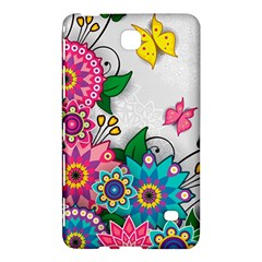 Flowers Pattern Vector Art Samsung Galaxy Tab 4 (8 ) Hardshell Case