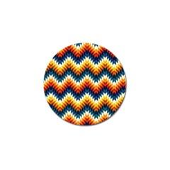 The Amazing Pattern Library Golf Ball Marker by BangZart
