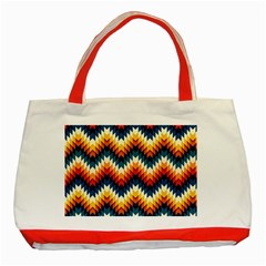 The Amazing Pattern Library Classic Tote Bag (red)