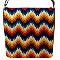 The Amazing Pattern Library Flap Messenger Bag (s)