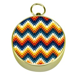 The Amazing Pattern Library Gold Compasses