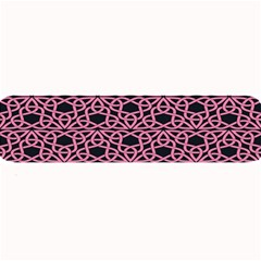 Triangle Knot Pink And Black Fabric Large Bar Mats