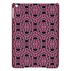 Triangle Knot Pink And Black Fabric Ipad Air Hardshell Cases