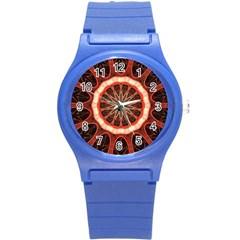 Circle Pattern Round Plastic Sport Watch (s) by BangZart