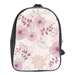Leaves Pattern School Bags(large)