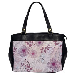 Leaves Pattern Office Handbags