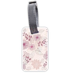 Leaves Pattern Luggage Tags (one Side)  by BangZart
