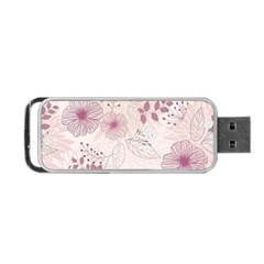 Leaves Pattern Portable Usb Flash (one Side) by BangZart