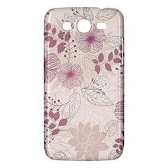 Leaves Pattern Samsung Galaxy Mega 5 8 I9152 Hardshell Case  by BangZart