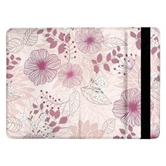 Leaves Pattern Samsung Galaxy Tab Pro 12 2  Flip Case